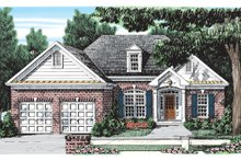 Ranch Exterior - Front Elevation Plan #927-226