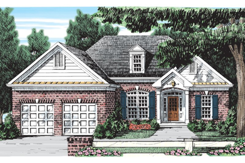Ranch Exterior - Front Elevation Plan #927-226 - Houseplans.com