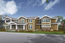 Craftsman Exterior - Front Elevation Plan #132-480