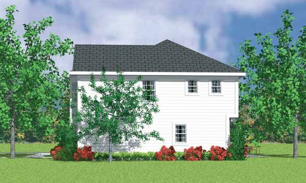 Country Floor Plan - Other Floor Plan Plan #72-1078