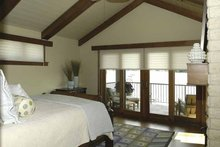 House Plan Design - Craftsman Interior - Master Bedroom Plan #928-15