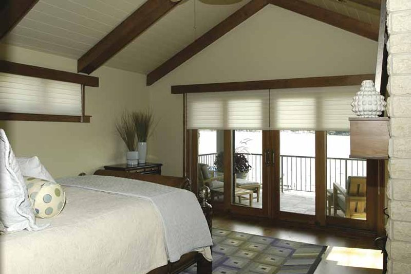 Craftsman Interior - Master Bedroom Plan #928-15 - Houseplans.com