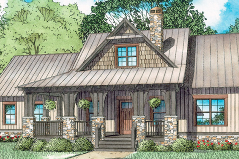 Country style house plan 3 beds 2 baths 1621 sq ft plan for Dream home source canada