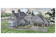 House Plan Design - Craftsman Exterior - Rear Elevation Plan #928-239