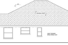 House Plan Design - Mediterranean Exterior - Other Elevation Plan #1058-38