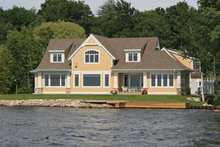 Craftsman Exterior - Rear Elevation Plan #928-170