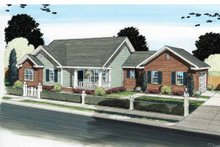 Traditional Exterior - Front Elevation Plan #513-2121