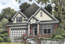 Country Exterior - Front Elevation Plan #929-760