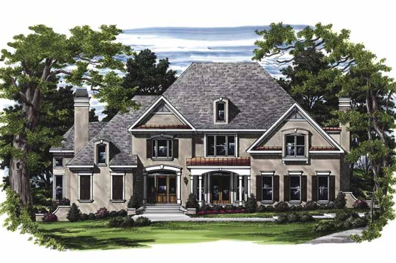 Traditional Exterior - Front Elevation Plan #927-445 - Houseplans.com