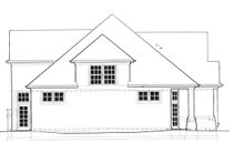 Home Plan - Craftsman Exterior - Other Elevation Plan #48-786