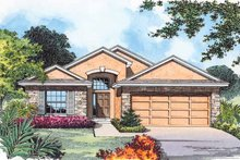 House Plan Design - Country Exterior - Front Elevation Plan #1015-27