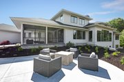 Traditional Style House Plan - 4 Beds 3.5 Baths 4606 Sq/Ft Plan #928-329 Exterior - Rear Elevation