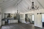 Traditional Style House Plan - 4 Beds 3.5 Baths 3026 Sq/Ft Plan #437-83 Interior - Family Room