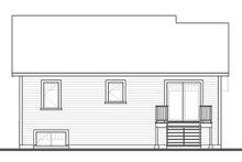 Craftsman Exterior - Rear Elevation Plan #23-2577