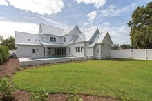 Home Plan - Farmhouse Exterior - Rear Elevation Plan #1058-73