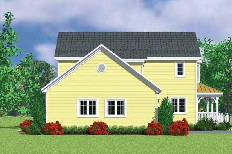 Victorian Exterior - Other Elevation Plan #72-1109 - Houseplans.com