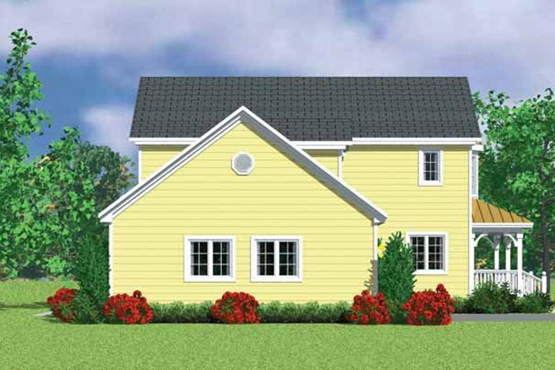 House Plan Design - Victorian Exterior - Other Elevation Plan #72-1109