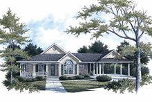Traditional Exterior - Front Elevation Plan #14-271
