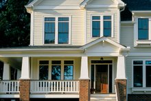 Architectural House Design - Craftsman Exterior - Front Elevation Plan #927-935