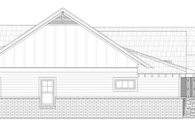 House Plan Design - Craftsman Exterior - Other Elevation Plan #932-174