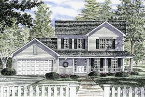 Traditional Exterior - Front Elevation Plan #316-117
