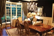 Architectural House Design - European Interior - Dining Room Plan #928-65
