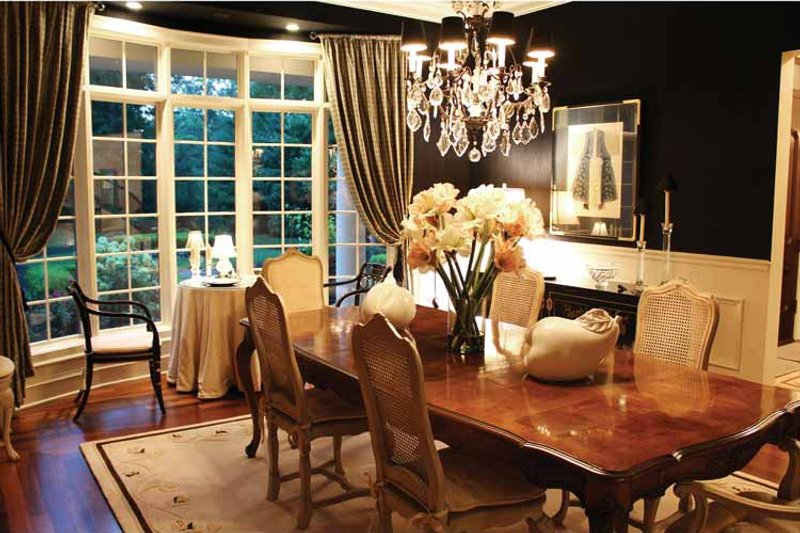 European Interior - Dining Room Plan #928-65 - Houseplans.com