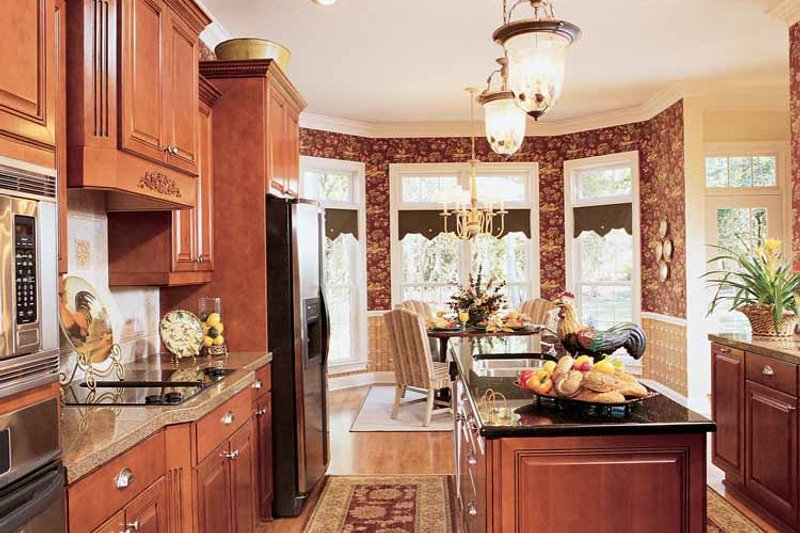 Country Interior - Kitchen Plan #952-275 - Houseplans.com