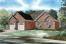 Traditional Exterior - Front Elevation Plan #17-2656