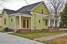 Home Plan Design - Craftsman Exterior - Rear Elevation Plan #936-14
