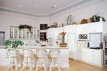 Home Plan - Mediterranean Interior - Kitchen Plan #54-187