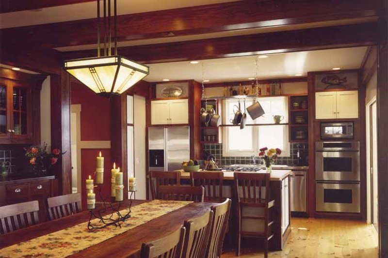 Bungalow Interior - Kitchen Plan #928-22 - Houseplans.com