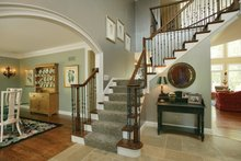 Architectural House Design - Country Interior - Entry Plan #57-628