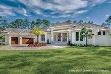 House Plan Design - Mediterranean Exterior - Front Elevation Plan #930-473