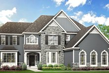Home Plan - Traditional Exterior - Front Elevation Plan #1010-205