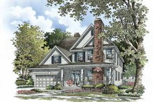 Dream House Plan - Traditional Exterior - Front Elevation Plan #929-787