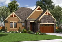 Traditional Exterior - Front Elevation Plan #48-596