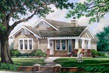 Home Plan - Craftsman Exterior - Front Elevation Plan #137-267