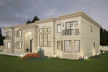 Classical Exterior - Front Elevation Plan #1066-29