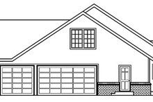 Dream House Plan - Ranch Exterior - Other Elevation Plan #124-391