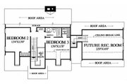 Colonial Style House Plan - 3 Beds 2.5 Baths 1962 Sq/Ft Plan #137-180 Floor Plan - Upper Floor
