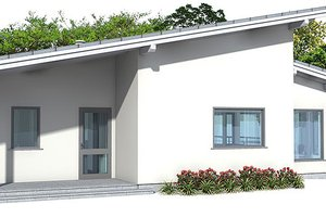 Modern Exterior - Front Elevation Plan #537-24