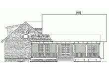 Home Plan - Craftsman Exterior - Rear Elevation Plan #137-251