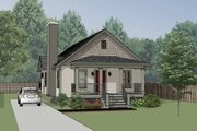 Cottage Style House Plan - 2 Beds 2 Baths 1002 Sq/Ft Plan #79-134