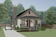 Dream House Plan - Cottage Exterior - Front Elevation Plan #79-134