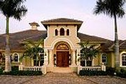 Mediterranean Style House Plan - 5 Beds 5.5 Baths 4403 Sq/Ft Plan #27-203 Photo