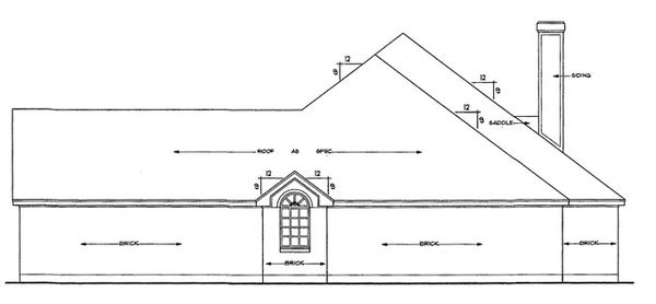 Home Plan - Ranch Floor Plan - Other Floor Plan #42-514