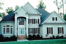Traditional Exterior - Front Elevation Plan #453-415