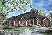 House Design - European Exterior - Front Elevation Plan #17-3018