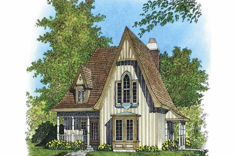 Victorian Exterior - Front Elevation Plan #1016-79 - Houseplans.com